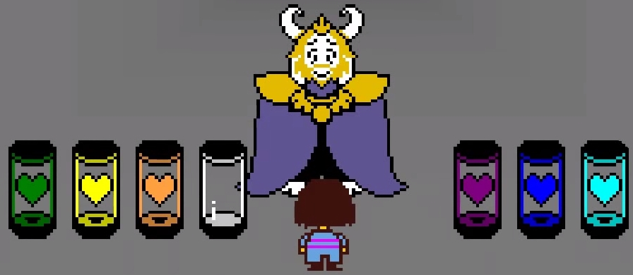 Undertale: Which Color Soul Are You? - Personality Quiz